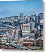 Seattle Waterfront Metal Print