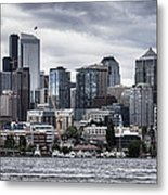 Seattle's Skyline Metal Print