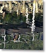Seawalk Reflected Metal Print