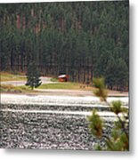 Secluded Cabin Metal Print