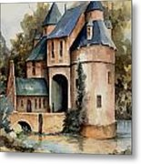 Secluded Castle Metal Print