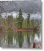 Secluded Cove Metal Print