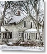 Secluded Old House Metal Print