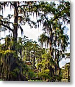 Secluded Retreat Metal Print