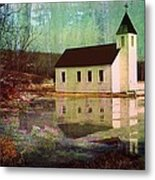 Secluded Sanctum  Metal Print by Shirley Sirois