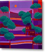 Secluded Villa Metal Print