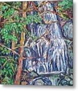 Secluded Waterfall Metal Print