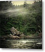 Seclusion On The Trinity Metal Print