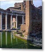 Second Century Villa Of Emperor Hadrian  Metal Print