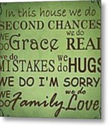 Second Chances In This House Metal Print