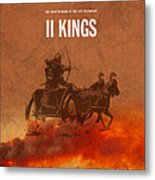 Second Kings Books Of The Bible Series Old Testament Minimal Poster Art Number 12 Metal Print
