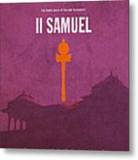 Second Samuel Books Of The Bible Series Old Testament Minimal Poster Art Number 10 Metal Print