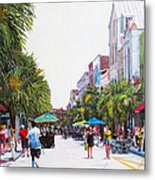 Second Sunday On King St. Metal Print
