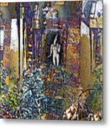 Secret Garden Metal Print by Ursula Freer