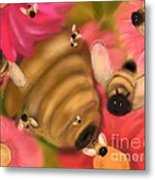 Secret Life Of Bees Metal Print