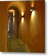 Secret Passageway In Lyon France Metal Print