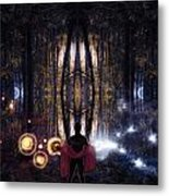 Secret Splendor Of Night Metal Print