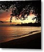 Secret Sunset Metal Print