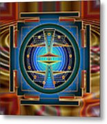 Secrets Of Mandala Time Metal Print