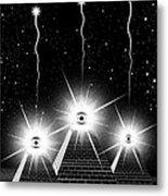 Secrets Of The Pyramids Metal Print