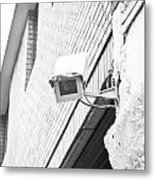 Security Camera Metal Print