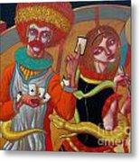 Sed And Des Metal Print
