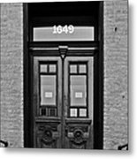 Sedgwick Street Old Town Chicago Metal Print by Christine Till