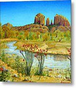 Sedona Arizona Metal Print by Jerome Stumphauzer