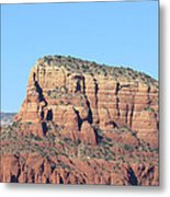 Sedona  Arizona  Mountain  Three Metal Print
