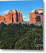 Sedona Arizona Mountains - 04 Metal Print