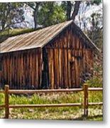 Sedona Arizona Old Barn Metal Print