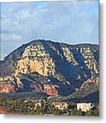 Sedona Arizona Panoramic Metal Print