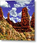 Sedona Arizona Red Rock Secret Mountain Wilderness Metal Print