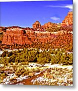 Sedona Arizona Secret Mountain Wilderness Metal Print