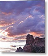 Sedona Arizona Sunset Metal Print