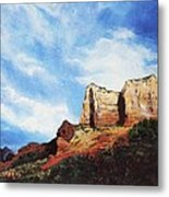 Sedona Mountains Metal Print