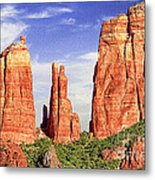Sedona Red Rock Cathedral Rock State Park Metal Print