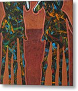 Sedona Sundown Metal Print