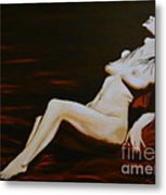 Seduction Metal Print by Elena  Constantinescu
