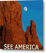 See America - Coconino National Forest Metal Print