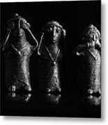 See No Evil Hear No Evi Speak No Evil 2 Metal Print
