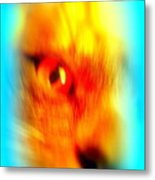 See You With My Cat Eye And You Are Looking Back Metal Print