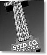Seed Company Sign 1.1 Metal Print