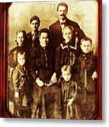 Seei Family Portrait Circa 1906 Metal Print