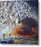 Seeing Shepherds Metal Print by Daniel Bonnell