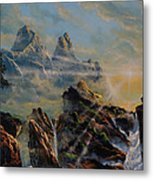 Seeing The Face Of God Metal Print