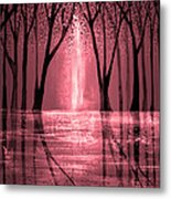 Seeing The Light Metal Print by Ann Marie Bone