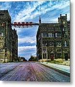 Seen Better Days Old Pabst Brewery Home Of Blue Ribbon Beer Since 1860 Now Derelict Metal Print