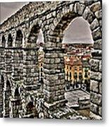 Segovia Aqueduct - Spain Metal Print