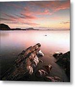 Seil Island Sunset Metal Print